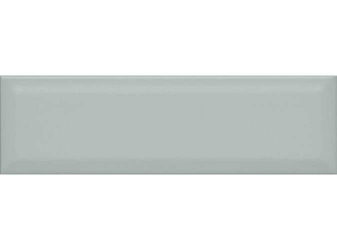 Плитка стена АККОРД 8.5х28.5 зеленый грань