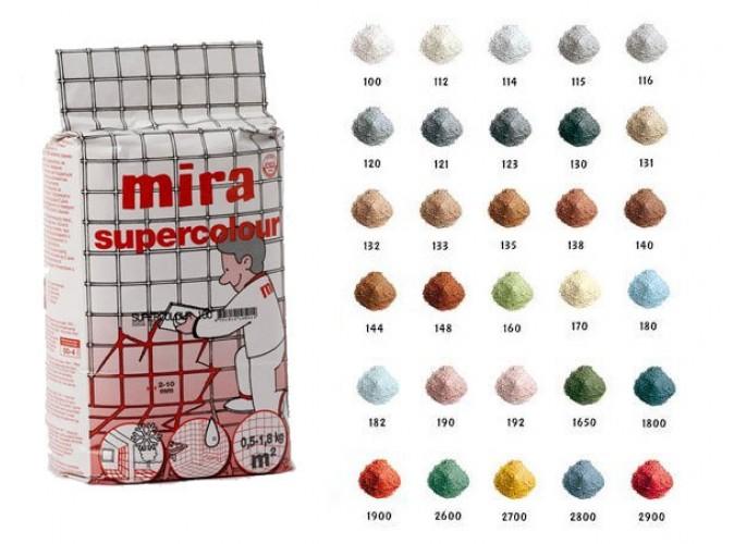 Затирка Мira supercolour 115 (1,2кг)