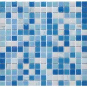 Мозаика Vivacer Голубой микс 32.7х32.7