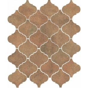 Плитка стіна Арабески котто рыж 26х30