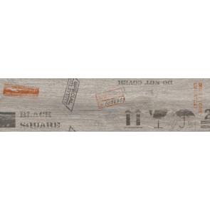 Декор Sherwood 15х60 сірий
