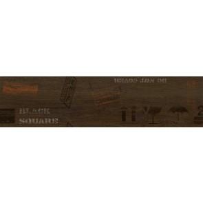 Декор Sherwood 15х60 коричневий