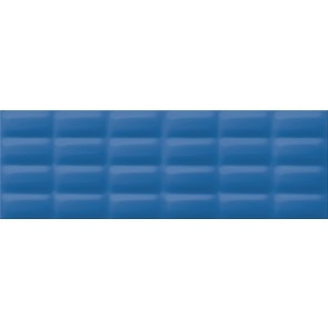 Плитка стіна Vivid Colors 25х75 blue glossy pillow
