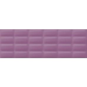 Плитка стіна Vivid Colors 25х75 violet glossy pillow