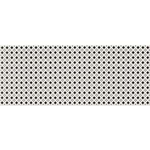 Декор Black and White 20x50 патерн D
