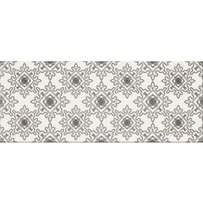 Декор Black and White 20x50 патерн Е