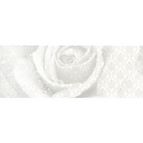 Декор Уайтхолл 15х40 Троянда білий