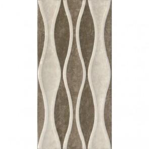 Декор VERONA Wave beige-brown 30х60