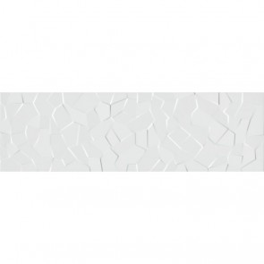 Плитка Стена WABI Shiro Crystal White  34x111