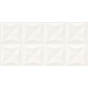 Плитка стіна Water Sparkles 29.7х60 Origami Glossy Structure white