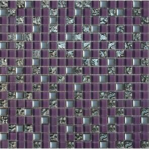 914 Мозаика микс фиолетовый
