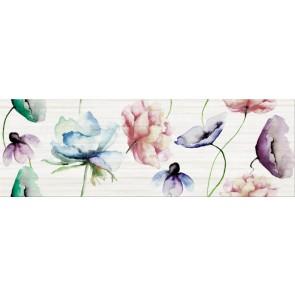 Декор Elegant Stripes 25х75 inserto flower