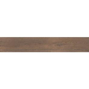 Плитка керамограніт Мербау 20х119.5 коричневий