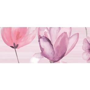Декор FLORA pink3 20х50
