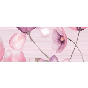 Декор FLORA pink2 20х50