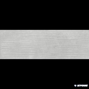 Плитка стена Opoczno Flower Cemento MP706 LIGHT  GREY STRUCTURE 24x74