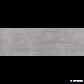 Плитка стена Opoczno Flower Cemento MP706 GREY STRUCTURE 24x74