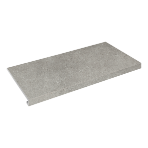 Сходинка кутова П-под. ліва Concrete 345x600x35x10.2 grigio SZRXRM8RR1