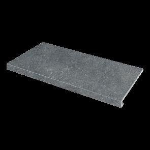 Сходинка кутова П-под. ліва Concrete 345x600x35x10.2 nero SZRXRM9RR1