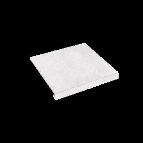 Сходинка кутова П-под. права Concrete 345x300x35x10.2 bianco SZRXRM1RC2