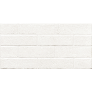 Плитка керамограніт Brickstone 30x60 total white ZNXBS0