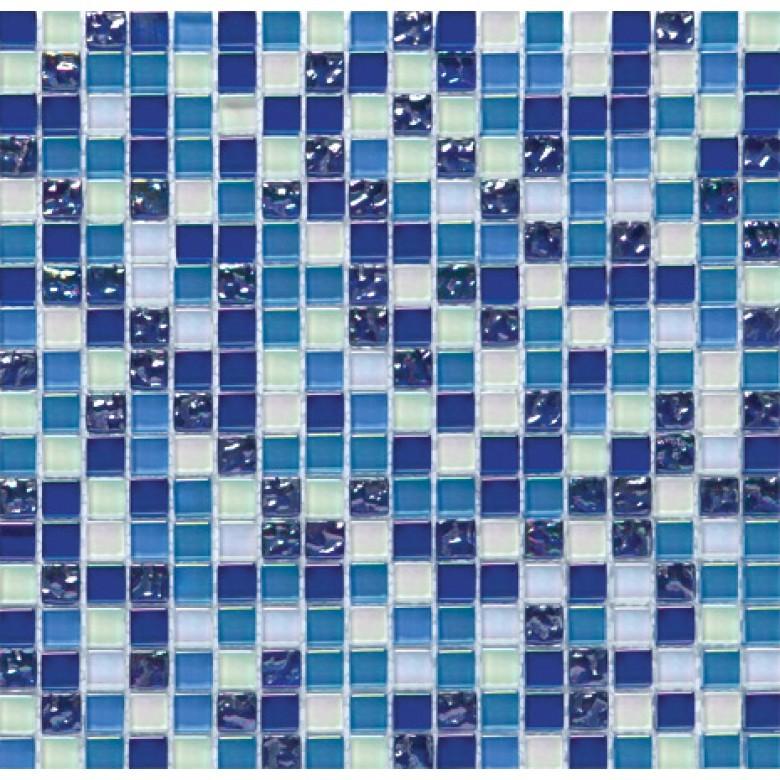 Мозаика Vivacer стекло Синий HCB02 30х30