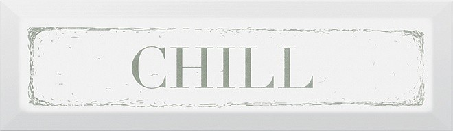 Декор Гамма Chill 8,5х28,5 зелений