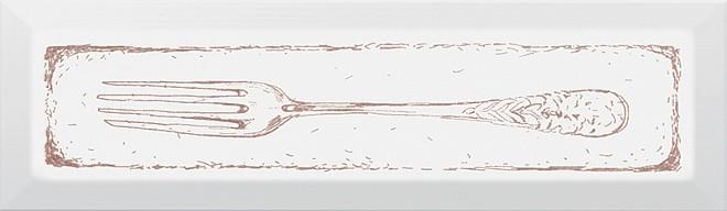 Декор Гамма Fork 8,5х28,5 карамель