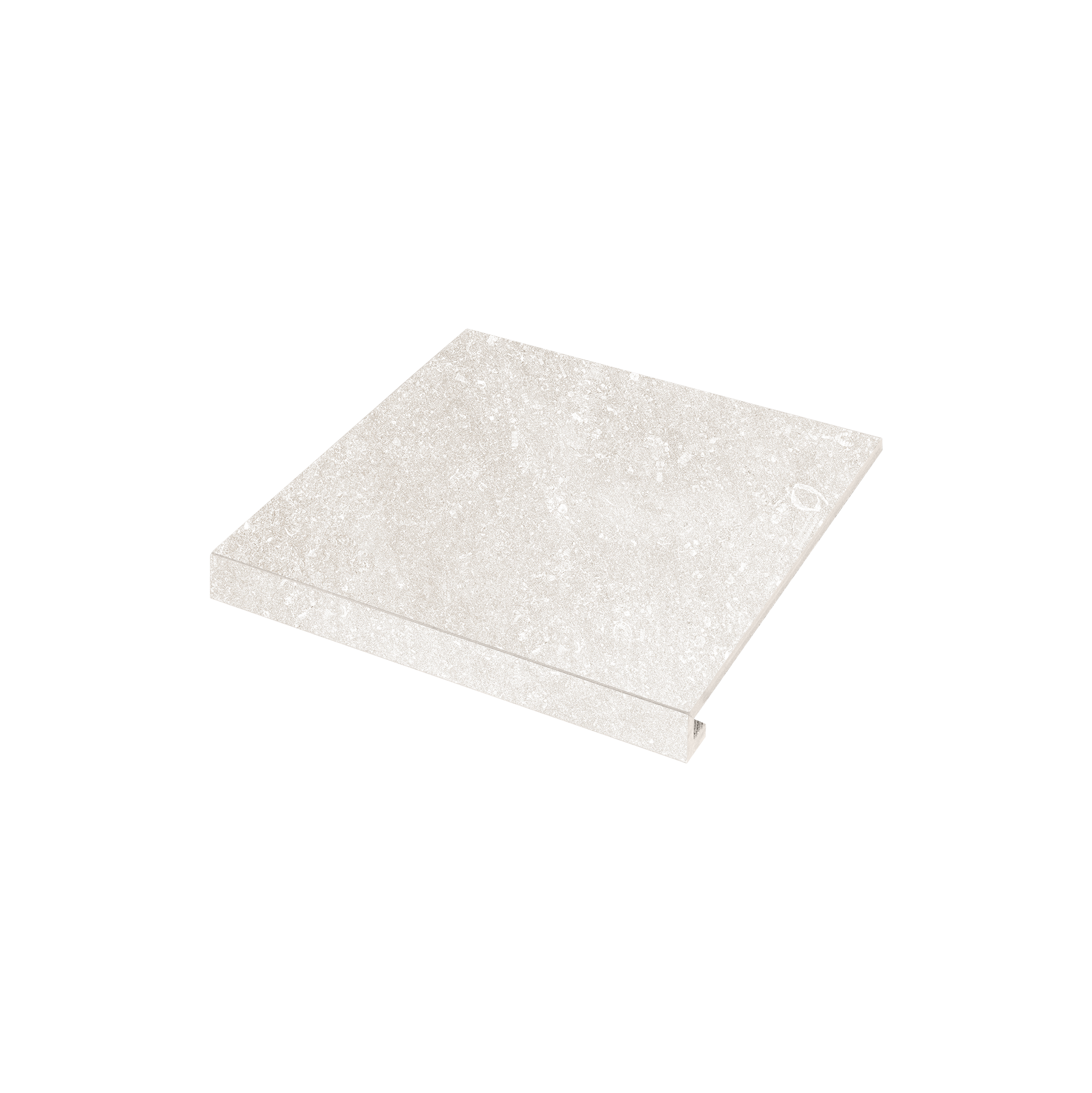 Сходинка кутова П-обр. ліва Ca' Di Pietra 345x300x35x10.2 bianco SZRXPZ1RC1