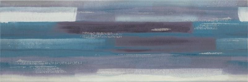 Плитка стіна ARTISTICO BLUE INSERTO GEO 25 × 75
