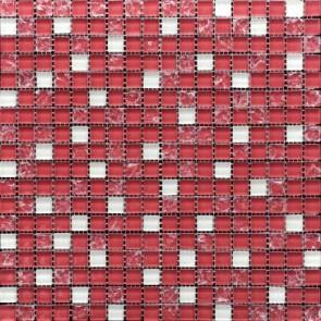 499 Мозаика микс розово-белая-розово-колот