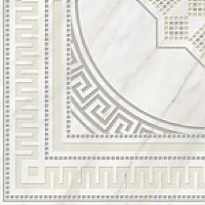 Декор Каррара 40x40 белый