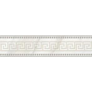 Декор Каррара 40x9,3 белый