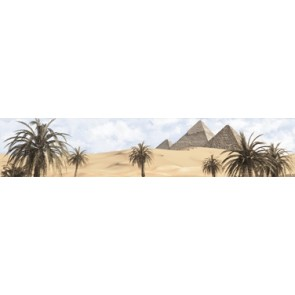Бордюр Luxor 30x6 - 1 голубой