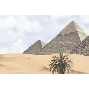 Декор Luxor 20x30 - 3 голубой