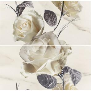 Панно Carrara 58,3x59,3 цветы