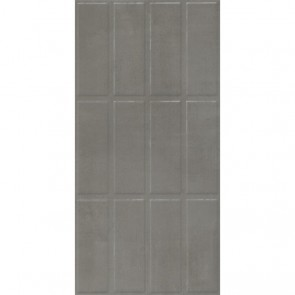 Плитка Стена Vivien Grey Brick Decor  Rectified 30x60