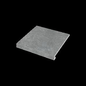 Ступень угловая П-обр. левая Ca' Di Pietra 345x300x35x10.2 grigio SZRXPZ8RC1