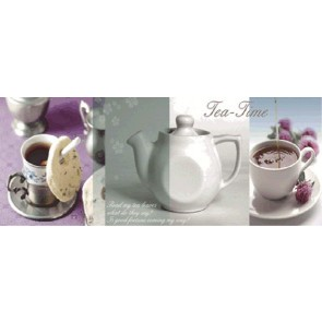 Декор Blanco Brillo D.Tea time 20X50