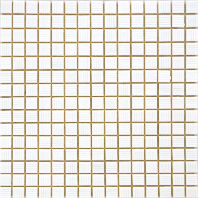 Мозаика Vivacer одноцвет Белый FA59 32.7х32.7