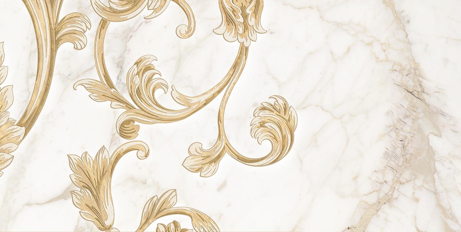 Декор SAINT LAURENT DECOR №4 WHITE 30x60